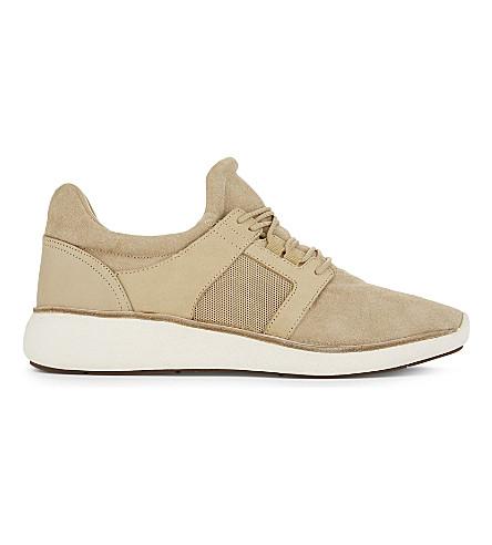 6c40d31c1e6160 ALDO Gawley suede mid-top sneakers (Cognac