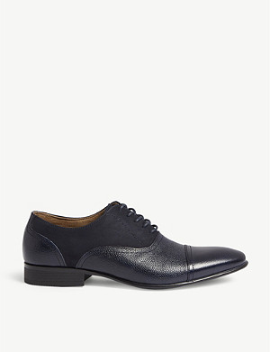 ALDO Nalessi leather mix brogues