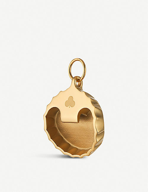 CHAOS Bottle Top Opener gold-plated charm