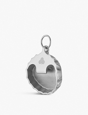 CHAOS Bottle Top Opener silver-plated charm