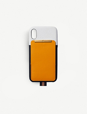 CHAOS Card holder leather iPhone XS case