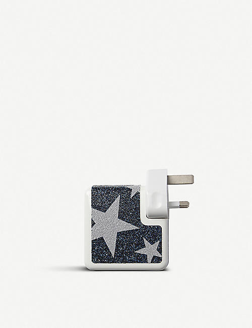 CHAOS Crystal-studded 61W Mac charger sticker