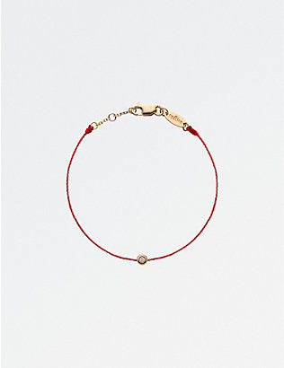THE ALKEMISTRY: RedLine Minimaliste 18ct rose-gold and diamond bracelet 4-7 years
