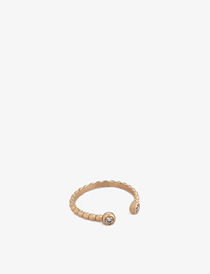 THE ALKEMISTRY Kismet by Milka 14ct rose-gold and diamond ring