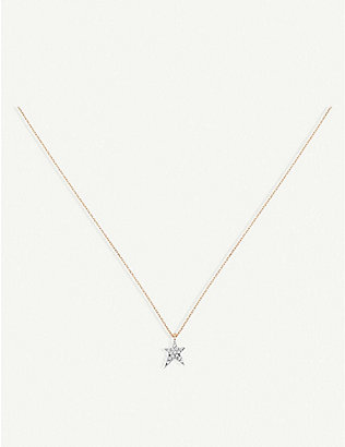 THE ALKEMISTRY: Kismet by Milka 14ct rose-gold and diamond necklace