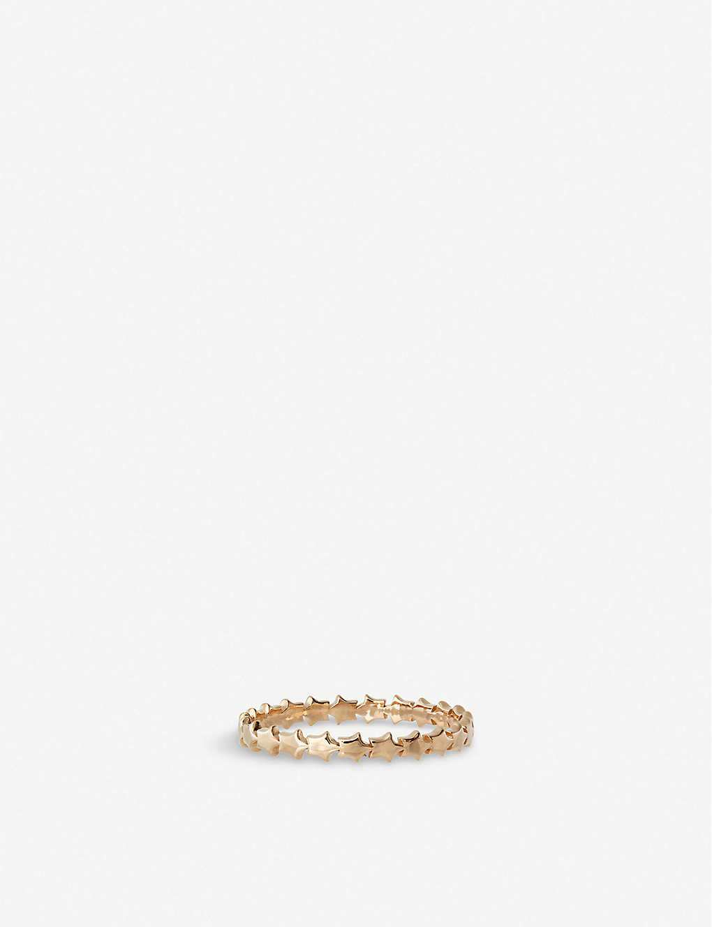 THE ALKEMISTRY: Kismet by Milka star rose-gold ring