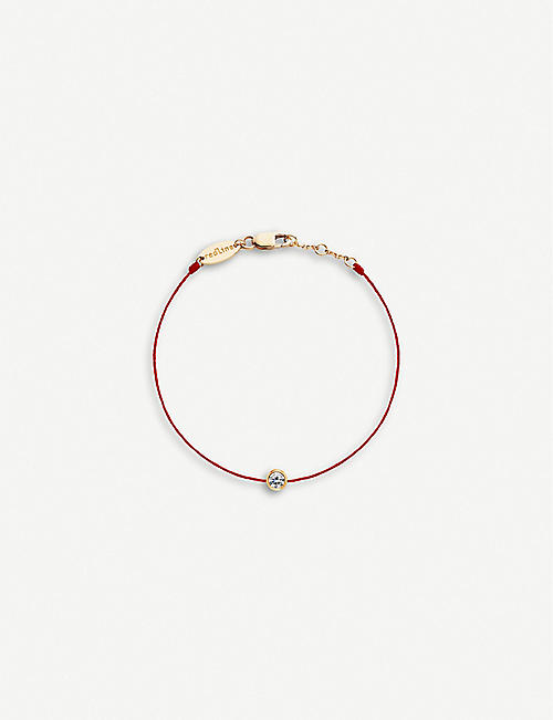 THE ALKEMISTRY: Redline 18ct rose-gold and diamond bracelet
