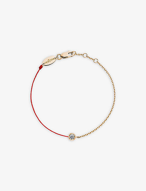 THE ALKEMISTRY: Redline 18ct rose gold and diamond pure bracelet