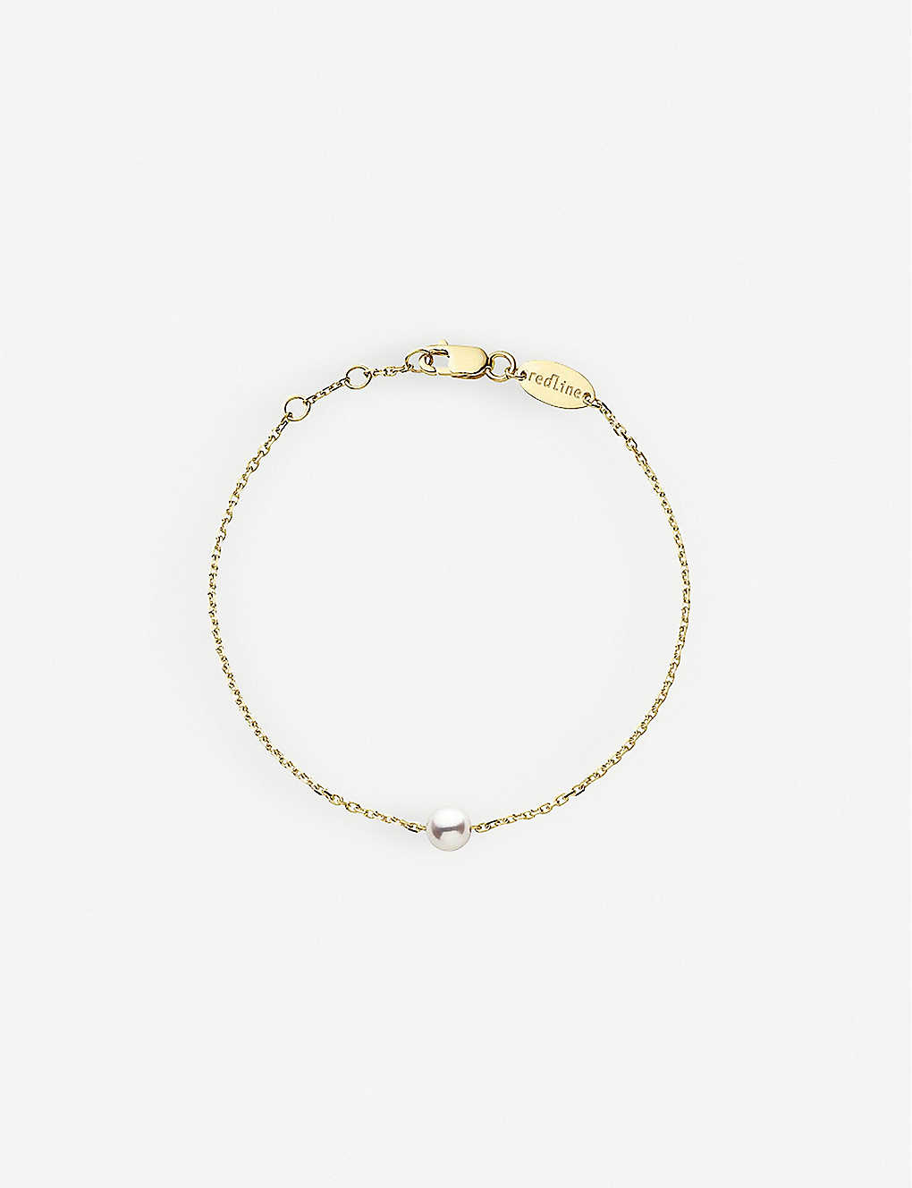 THE ALKEMISTRY: Redline Sensuelle Akoya 18ct yellow-gold and pearl bracelet