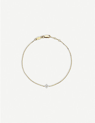 THE ALKEMISTRY: Redline 18ct yellow-gold diamond bracelet