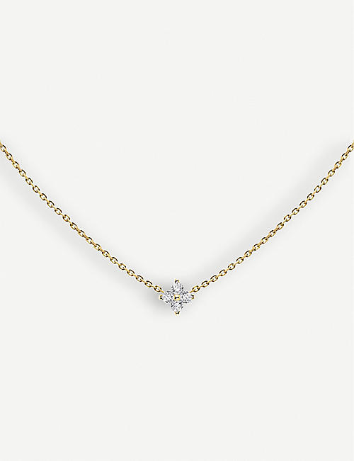 THE ALKEMISTRY Redline Shiny 18ct yellow-gold and diamond necklace