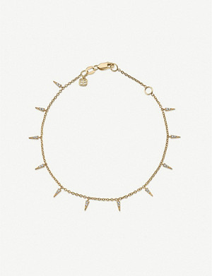 THE ALKEMISTRY Sydney Evan Fringe 14k yellow gold and diamond bracelet