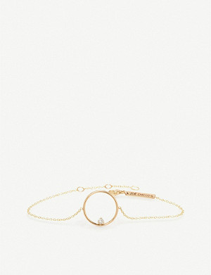 THE ALKEMISTRY Zoë Chicco 14ct yellow gold medium open circle bracelet