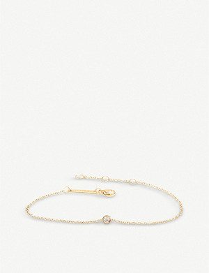 THE ALKEMISTRY Zoë Chicco 14ct yellow-gold and diamond chain bracelet