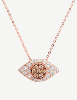 THE ALKEMISTRY The Alkemistry x Carbon and Hyde 14ct rose-gold and diamond necklace