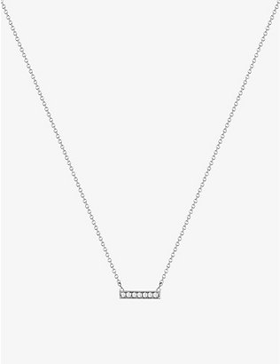 THE ALKEMISTRY: Dana Rebecca 14ct white-gold and diamond necklace