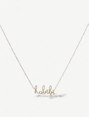 THE ALKEMISTRY Persée Habibi 18ct yellow-gold and diamond necklace