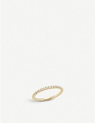 THE ALKEMISTRY: Dana Rebecca Pebble 14ct yellow-gold and diamond ring
