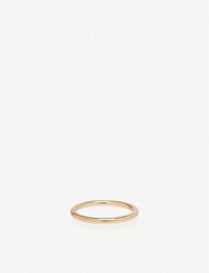 THE ALKEMISTRY Zoë Chicco 14ct rose-gold band ring