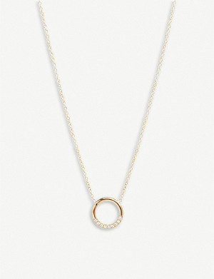THE ALKEMISTRY Zoë Chicco 14ct yellow-gold and diamond necklace