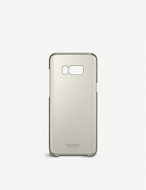 SAMSUNG Galaxy S8+ clear cover