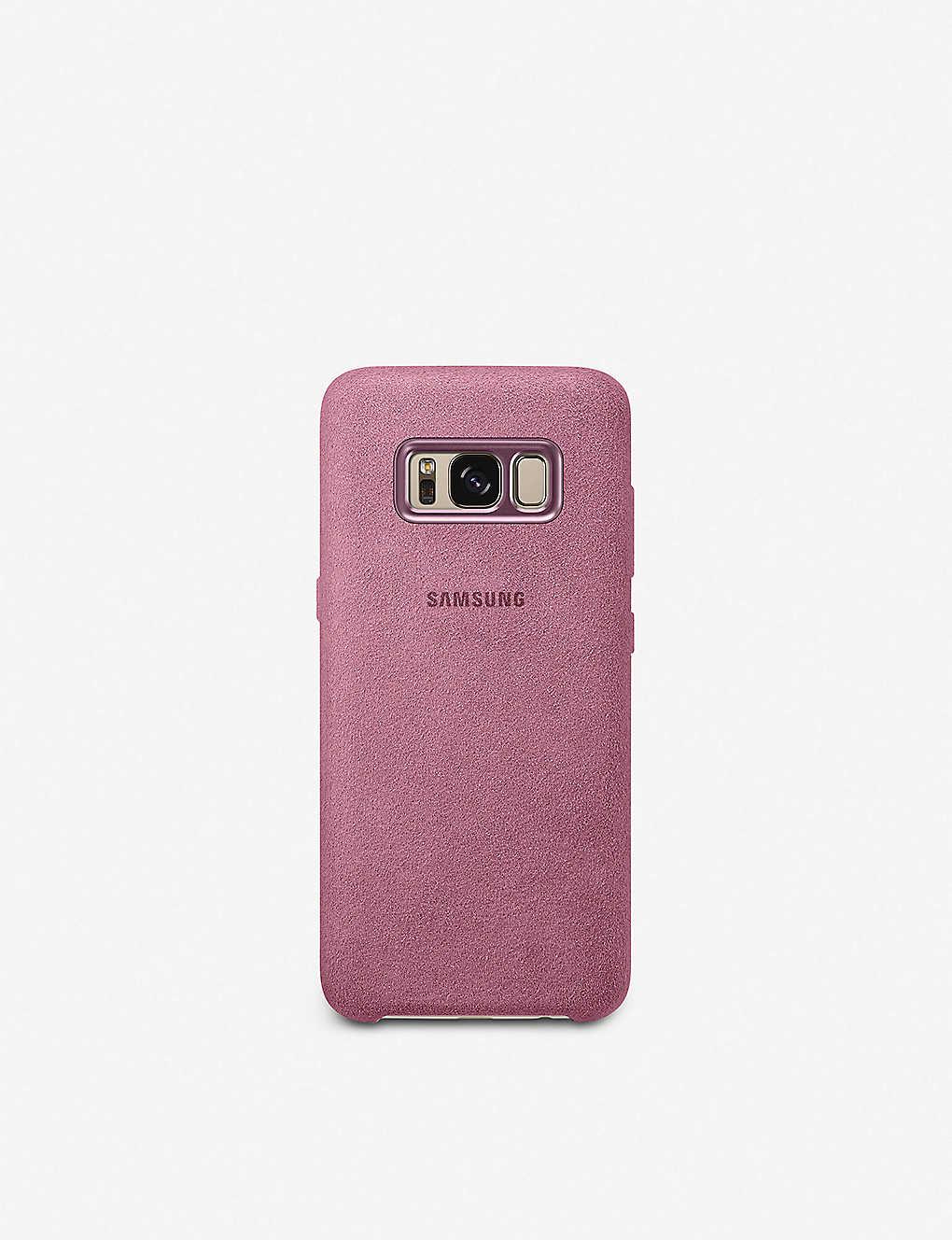 buy online 89615 59c64 Galaxy S8 Alcantara back cover
