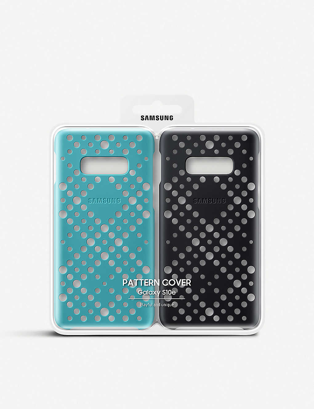 SAMSUNG: Twin pack patterned cover
