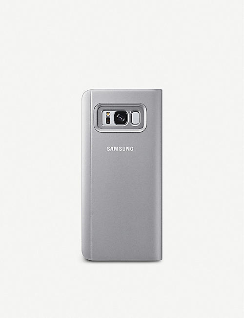 SAMSUNG Clear View Stand Galaxy S8 phone cover
