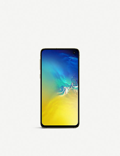 SAMSUNG Galaxy S10E phone 128gb Yellow