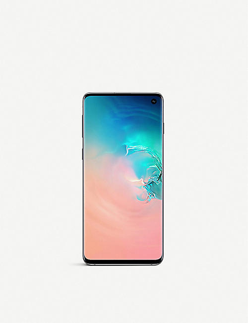 SAMSUNG Galaxy S10 phone 128gb White