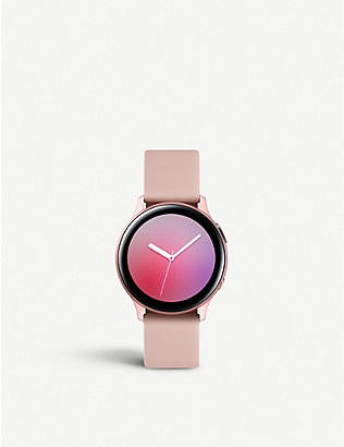 SAMSUNG: Galaxy Active2 aluminium smart watch 40mm