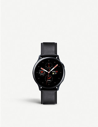 SAMSUNG: Galaxy Active2 stainless steel smart watch 40mm
