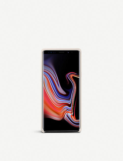 SAMSUNG Galaxy Note9 soft touch silicone cover