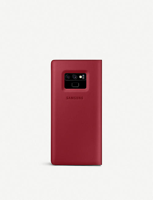 SAMSUNG Galaxy Note9 leather wallet cover