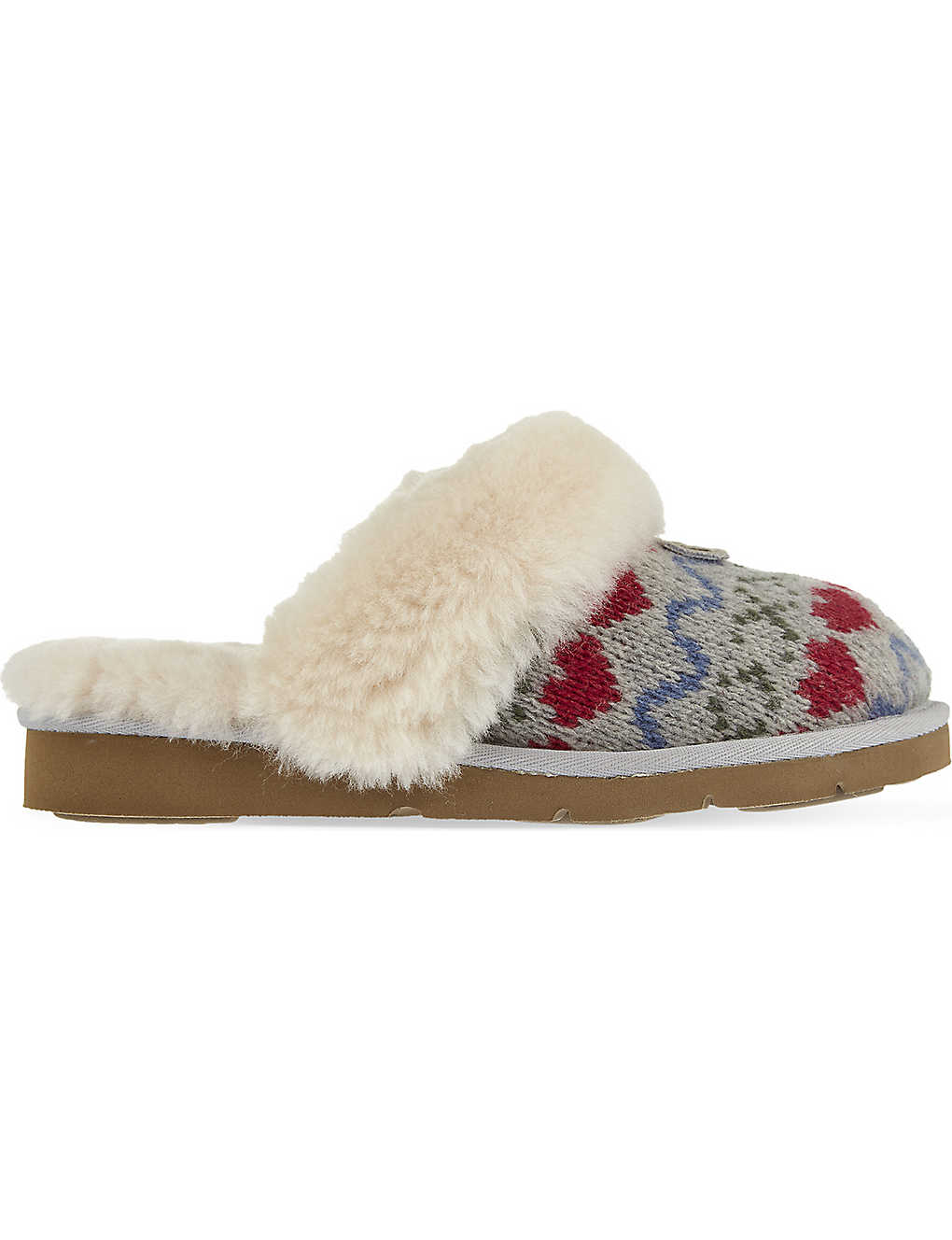 64bc5e7765b UGG - Cozy knit heart slippers | Selfridges.com