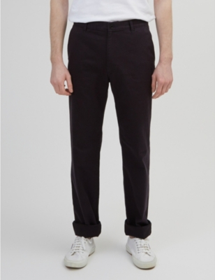 COMMUNITY CLOTHING Classic-fit cotton chinos