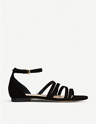 LK BENNETT: Vinnie strappy suede sandals