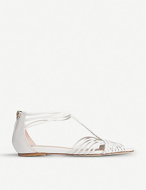 143a46bd38f2f LK BENNETT LK Bennett x Jenny Packham Deedee cutout braided leather sandals