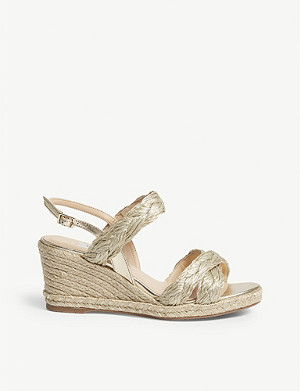 LK BENNETT Roxie plaited heeled sandals