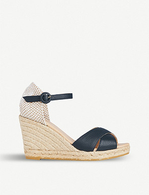 LK BENNETT Angele patterned leather sandals