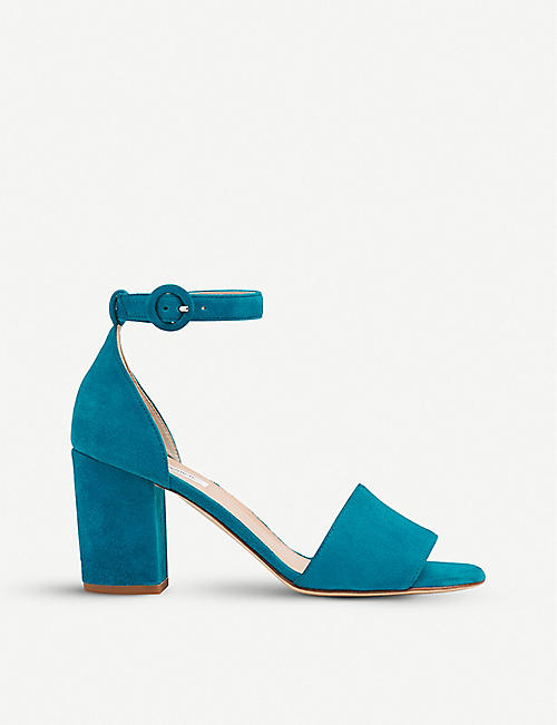 91a40289d9eb LK BENNETT Hester block heel suede sandals