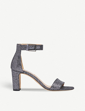 LK BENNETT Nora embellished woven heeled sandals