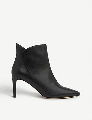 LK BENNETT Maja leather ankle boots