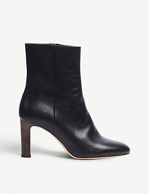 LK BENNETT Mirabelle leather ankle boots