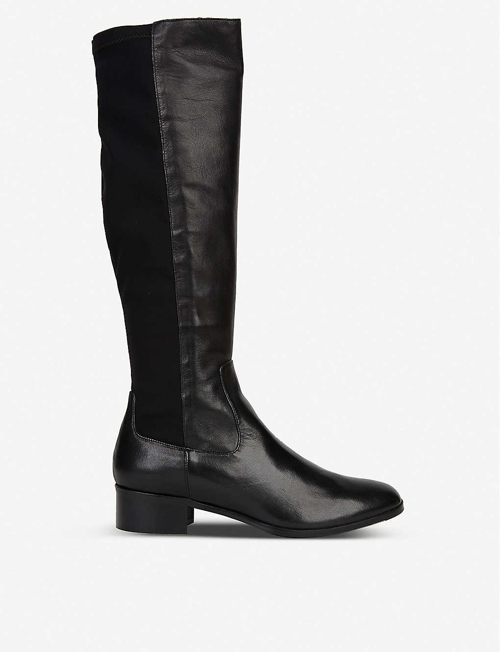 LK BENNETT: Bella leather knee-high boots