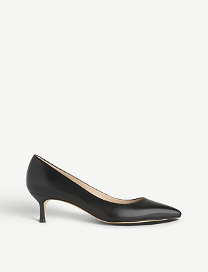 LK BENNETT Audrey leather courts