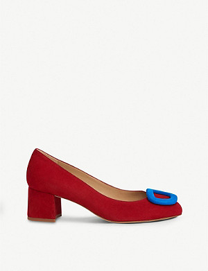LK BENNETT Nimah suede court shoes