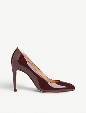 LK BENNETT Whitney patent leather courts