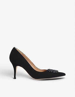 LK BENNETT Harmony suede courts