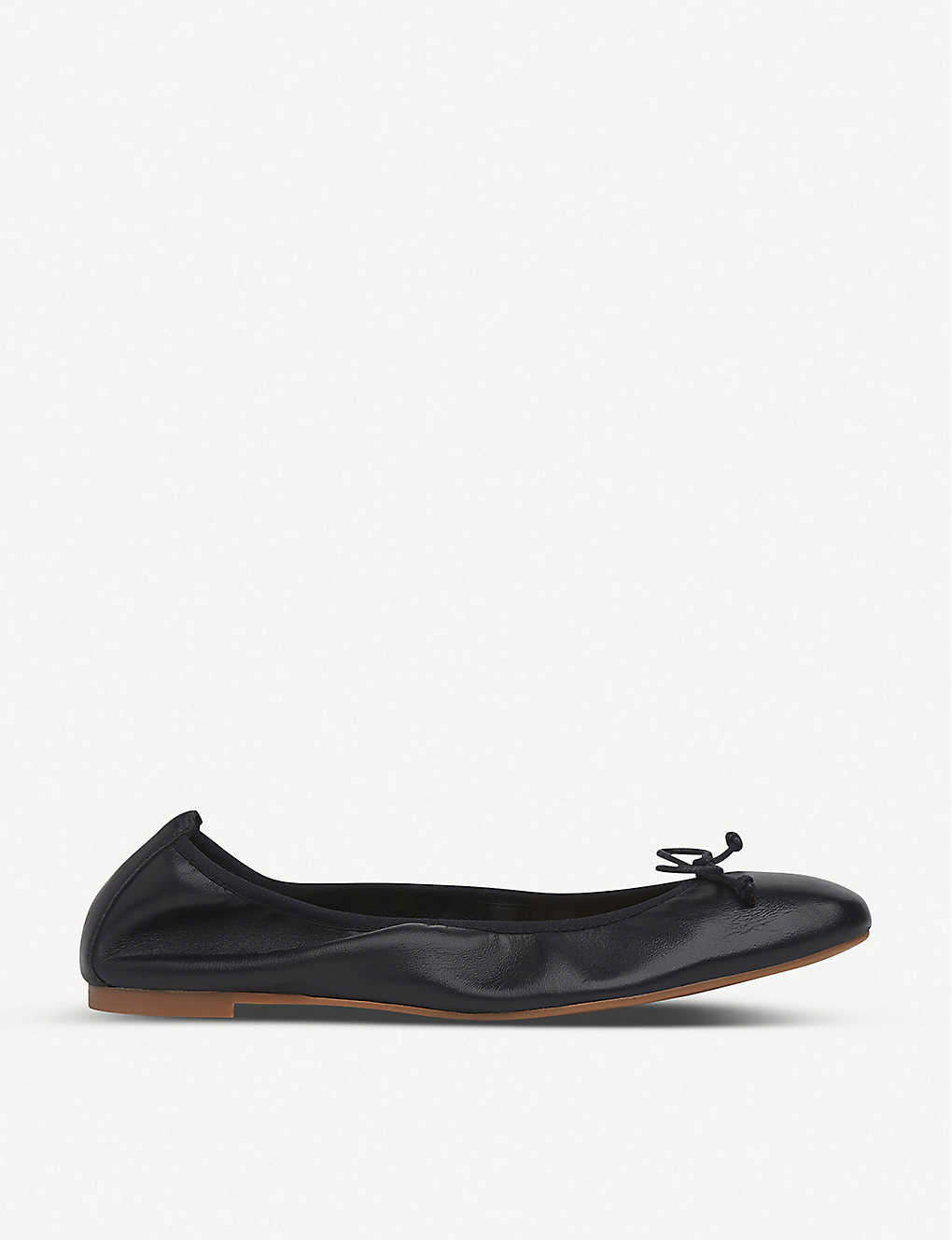 LK BENNETT: Trilly leather ballerina flats